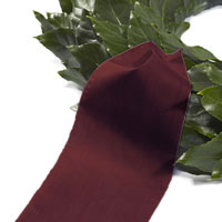Funeral ribbon bordeaux red