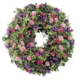 Admiration funeral wreath