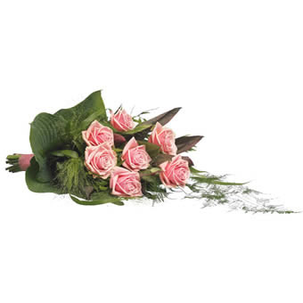 Funeral Bouquet - Rosy