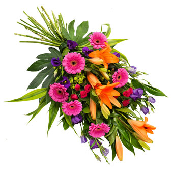 Exotic Funeral Bouquet
