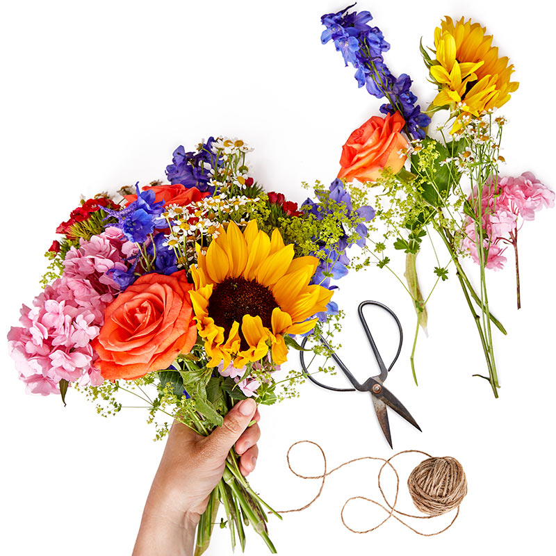 Colourful Florist Design