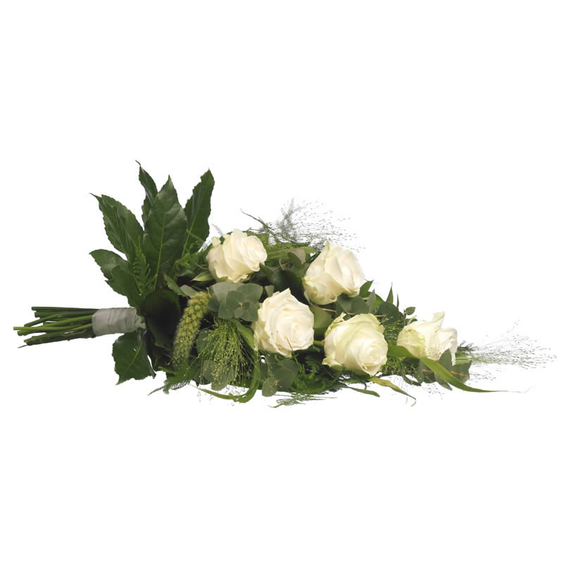 Funeral bouquet - white