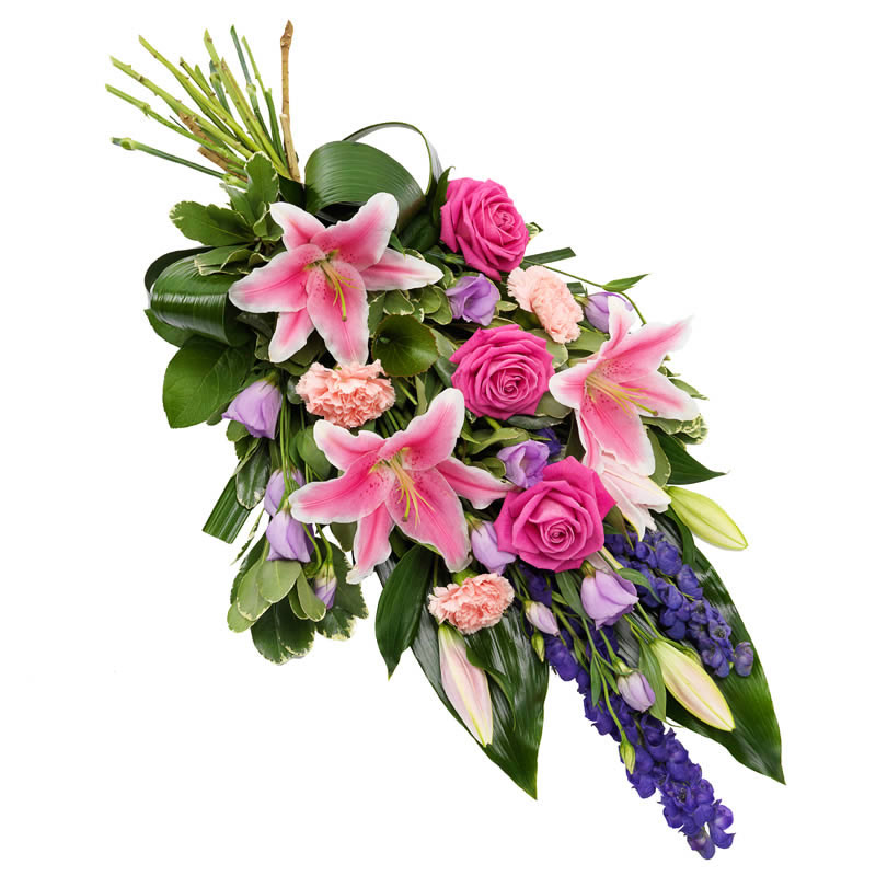 Funeral Bouquet in Pink