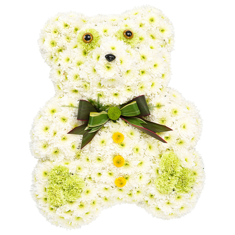 "Funeral Flowers ""Teddy"""