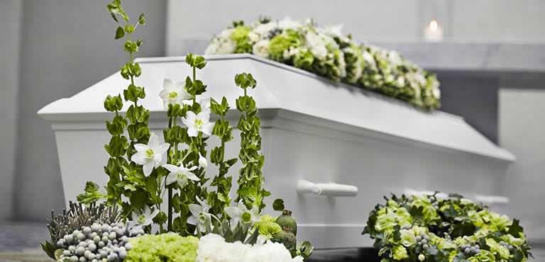 Trauerfall Blumen