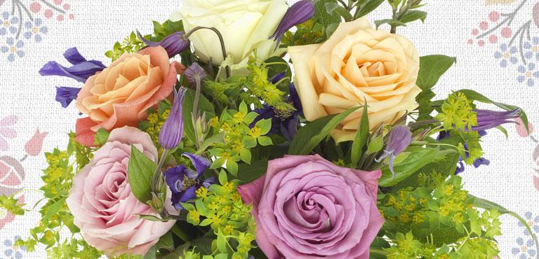 Blumen zur Genesung