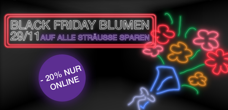 Black Friday Blumendeals
